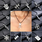 Fashion Women Men Pendant Necklace Chain Silver Stainless Steel Jewellery Gift