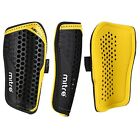 MITRE AIRCELL PRO SHINPADS with sleeve - BLACK/YELLOW - 5 SIZES AVAILABLE