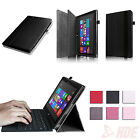 PU Leather Folio Keyboard Holder Stand Case Cover for Microsoft 10.6 Surface RT2