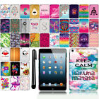 For Apple iPad mini Design PATTERN HARD Case Back Phone Cover Accessory + Pen