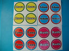 """12 LAWN BOWLS STICKERS 1"""" NAMES NEW CROWN GREEN BOWLS FLAT GREEN INDOOR BOWLS"""