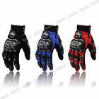 Carbon Fiber Motorcycle MOTORBIKE Bike Racing Protective Gloves Full L XL XXL