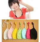 Sale Womens Back Hollow Sun Top Wrapped Chest Tank Top 6Colors F8201 QQU