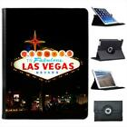 Welcome To Las Vegas Folio Wallet Leather Case For iPad 2, 3 & 4