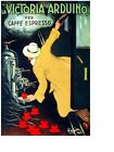 4290.la Victoria arduino.per caffe espresso.POSTER.House decor Home Office art