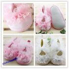 Toddler Baby Girls Shoes Beautiful Newborn Non-Slip Princess Lace Shoes Hot Sale