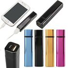 2600mAh Metal External Portable Battery Charger Power Bank For Mobile Phone