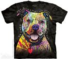 The Mountain Beware of Pit Bulls Puppy Dog Mens T-Shirt S,M,L,XL,3XL