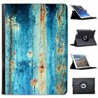 Rusty Blue Folio Wallet Leather Case For iPad Air & Air 2