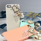 New Sweet Rhinestone PC Protective Hard Case Skin Cover For i Phone 4 4S