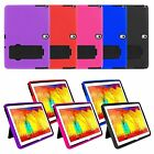 Armor Silicone Cover / Hard Case w / Stand for Samsung Galaxy Tablet