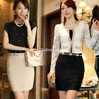 Womens OL Sexy Wear Work career business Casual Pencil Skirt Dress Slim Fashion