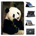 Panda Bear Folio Leather Case For iPad Mini & Retina