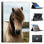 Dirty White Horse Folio Leather Case For iPad Mini & Retina