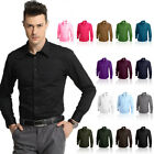 High Quality BIG sizes Button Front Cotton Shirt Formal Casual long sleeve