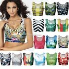 New Fashion Sexy Crop Tops Vest Midriff Shirt Blouse Tank Top Cami 15Color SH