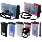 For Samsung Galaxy Note 3 S5 Waterproof Bag Armband STRAP POUCH Case Cover + Pen