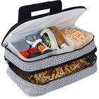 Picnic Plus Entertainer Hot & Cold Food Carrier 15 Colors Travel Cooler NEW
