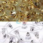 Gold and Silver Color Choice Girl Deco Earring Warhead Metal Earplug of Non-slip