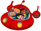 "6-9.5"" LITTLE EINSTEINS SPACESHIP WALL STICKER GLOSSY BORDER CHARACTER CUT OUT"