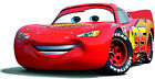 "7-10""  DISNEY CARS MCQUEEN  WALL SAFE STICKER CHARACTER BORDER CUTOUT"