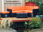WATERPROOF FABRIC NEW CUSHIONS - RATTAN CANE WICKER FURNITURE BESPOKE AVAILABLE