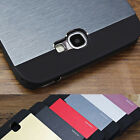 Luxury Hybrid Metal Brushed Hard Case Cover For Various Samsung Galaxy Phone NEW