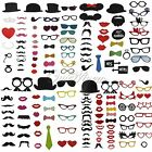 Mask Wedding Party Photography Photo Booth Bow Tie Glass Lips Prop Mustache
