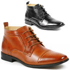 Ferro Aldo MFA-806005A Men's Lace up Dress Ankle Boots Shoes w/ Leather Lining