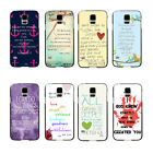 Christian Jesus Bible Verse Proverbs 3:6 Hard Case For Samsung Galaxy S5 I9600