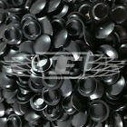 M10 (10mm) BLACK DRILL HOLE COVER CAPS,BLANKING HOLEFIX FURNITURE