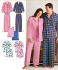 SEWING PATTERN Simplicity 3971 Adult Unisex His & Hers LOUNGE WEAR TOPS PANTS