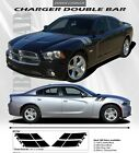 For DODGE CHARGER Double Bar Vinyl Graphics EE1769 Decals Trim Emblems 2011-2014