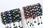 10mm Crystal Pave Disco Ball Bracelets (20 Colors) Hip Hop Friendship Gift 1PC