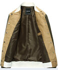 New Fashion Spring Men's Casual Jackets Slim Male thin Coat ButtonsTops MWB033