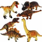 Large 36cm Soft Foam Rubber Stuffed Dinosaur Play Toy Animals Action Figures