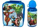 OFFICIAL MARVEL AVENGERS INSULATED LUNCH BAG BOTTLE OR SET SCHOOL KIDS GIFT XMAS