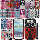 For Samsung Galaxy S3 i9300 T999 BLING DIAMOND HARD Case Phone Cover + Pen