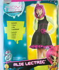 Novi Stars Alie Lectric Alien Dress Child Costume Dress 4-6 NIP