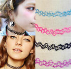 Vintage hippy stretch tattoo choker necklace elastic chocker Henna Hot Sale