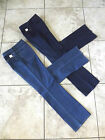 NEW Coldwater Creek Natural 5-pocket Bootcut Jeans Blue Dark Wash Womens