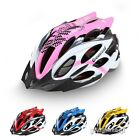 Men Women Sport Riding Road Mountain Bike Helmet Adjustable Bicycle Cycling Pink