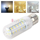 Bright 36 LED 5730 SMD E27 Cover Corn Light Lamp Bulb Warm Pure White Low heat