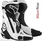 Alpinestars SMX S-MX Plus Black/ White NEW 2013 Motorcycle Racing & Sport  Boots