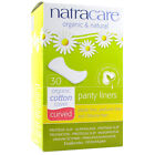 Natracare Natural Panty Liners- Choice of 3 Sizes Curved, Tanga or Ultra Thin
