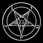 GOAT'S HEAD PENTAGRAM (lucifer occult witch hell paganism antichrist) T-SHIRT