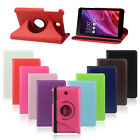360 Degree Rotating Stand Leather Case Cover For ASUS MeMO Pad 7 ME176CX Tide