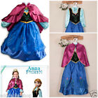 Anna Elsa Princess Halloween School Party Girls COSTUME Dresses AGE 3-4-5-6-7-8Y