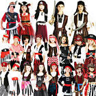 Childs Pirate Fancy Dress Kids Book Week Halloween Party Childrens Costume New