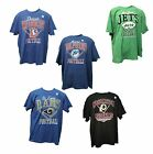 NFL Football Men' Retro T-Shirt Distressed Diamond Collection New for 2014